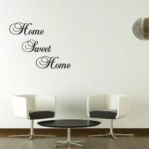 ... -Sweet-Home-Large-Vinyl-Wall-Quote-Vinyl-Decor-Big-Vinyl-Quote-QU11