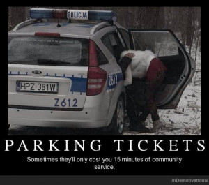 Funny Parking Tickets