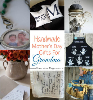 ... check out some of these fun Handmade Mother's Day Gifts for Grandma