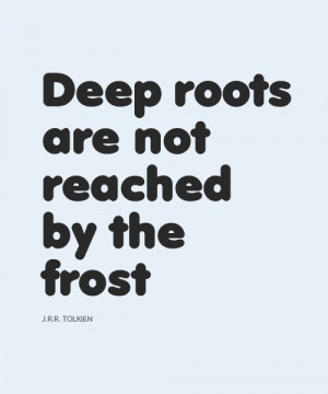 Deep Roots Quotes http://www.pinterest.com/pin/530298924843099716/