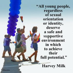 Harvey Milk quote: Harvey Milk, People Deserve, Funny Stuffz, Milk ...