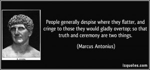 Mark Antony Quotes