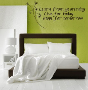 Green Bedroom Wall Decorating Designs Ideas with Love Inspirational ...
