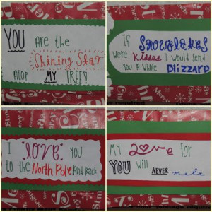 Cheesy Christmas quotes :)