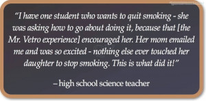 Have One Student Who Wants To Quit Smoking- She Was Asking How To Go ...