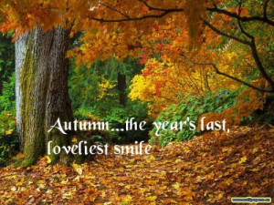 Fall Sayings & Photos - http://thegardeningcook.com/inspirational-fall ...