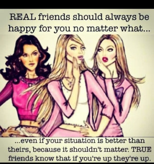 Jealousy Quotes For Friends True friends are never jealous
