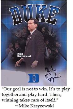 Coach K Mike Krzyzewski -