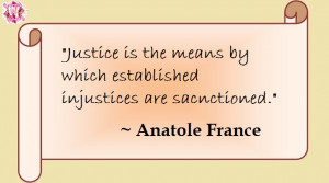 True quote about justice that will make you think