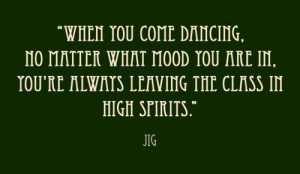 Irish Dance Anti Depressant...
