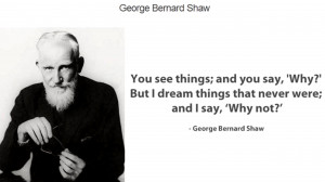 George Bernard Shaw Quote about Possibility in Life