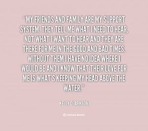 quotes about family supporting you