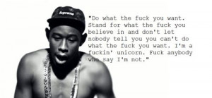 Tyler the creator quote