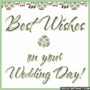 wishes on your wedding day best wishes on your wedding best wishes on ...