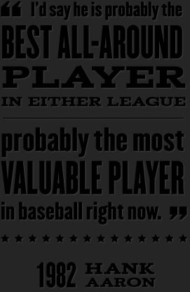 Quote by Hank Aaron