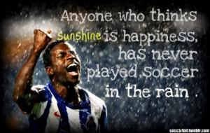 ... love soccer # soccer in the rain # soccer in rain # the beautiful
