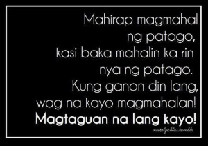quotes about love tagalog version