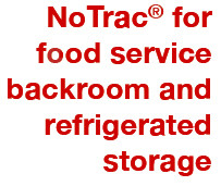food service trackless mobile storage systems new unique notrac food ...