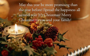 Family quotes merry christmas picture quote with bell capture in peace
