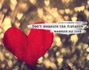 distance, ldr, love, photography, quotes