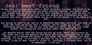 dear best guy friend on dear best friend quotes tumblr dear best ...