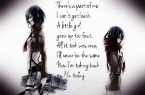 Mikasa Quote