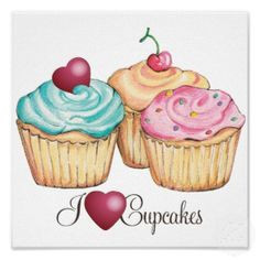 cupcake poster | Cute short quotes and sayings pictures 4 ~ Bi=Xa ~