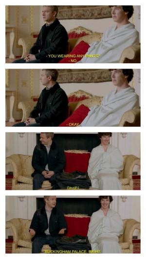 Martin Freeman Hedgehog Benedict Cumberbatch Otter Sherlock quote ...