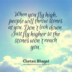 Chetan Bhagat Inspirational Quote