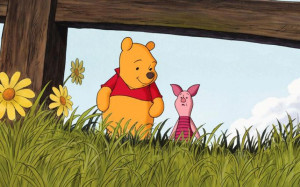 Winnie The Pooh - AA Milne's Winnie The Pooh characters in quotes