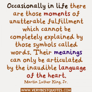 ... Quotes, Life Quotes, Martin Luther King, Jr. Quotes, Meaning Quotes
