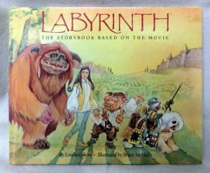 RARE Labyrinth Storybook Based on movie 1st Edition Gikow Jim Henson ...