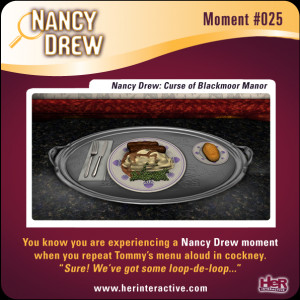 my favorite Nancy Drew moments of all time; being able to fully quote ...