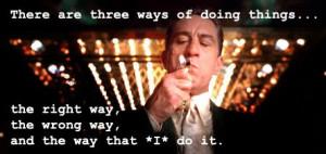 Casino...good movie!! Love De Niro!