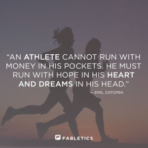 Quotes, athletes, Fabletics, Hope