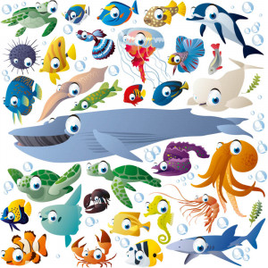 Related image with Cartoon Sea Creatures