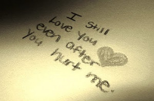 hate Someone..Even their Love Wil Hurt you ..!! But, When you love ...