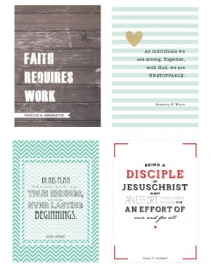 20 gorgeous free printables | favorite inspirational quotes