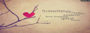 Love Quote Facebook Cover