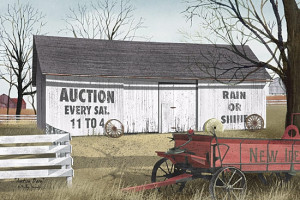Auction Barn by artist Billy Jacobs