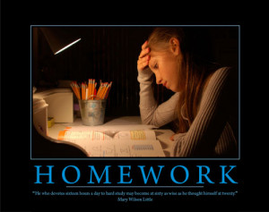 Inspirational homework quotes