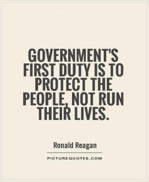 Ronald Reagan Quotes Government Quotes
