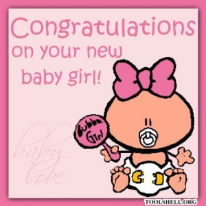 Congratulations RosaG on the birth of your new baby girl Anna !