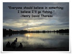 Wishing I was fishing… Thoreau fishingquote