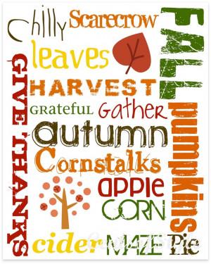 Fall Harvest Sayings Autumn/fall/harvest