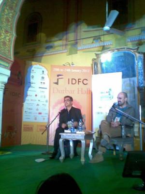 ... : The JLF story (Rushdie, Hari Kunzru, Amitava Kumar, Satanic Verses