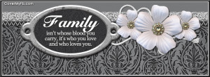Facebook Covers Quotes About Family Family quote facebook cover