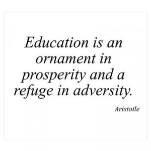 Aristotle, quotes, sayings, education, deep, wise