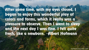 Favorite Albert Hofmann Quotes