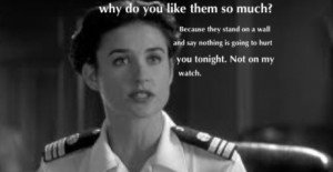 few good men - one of my favorote movie quotes. Thank you to the USA ...